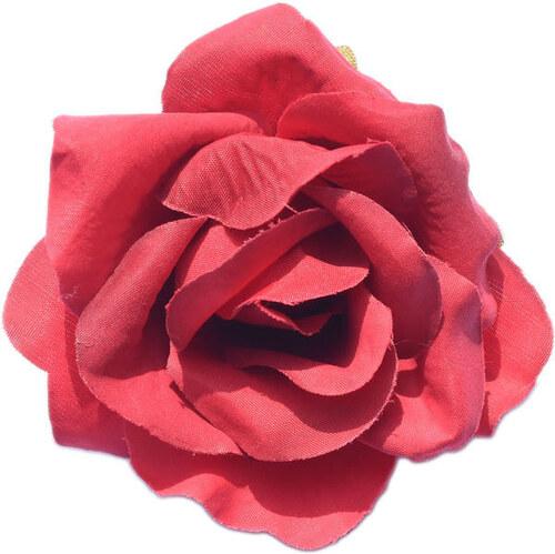 0915e4c298e Beyou Květina do vlasů Růže rudá - Glami.cz