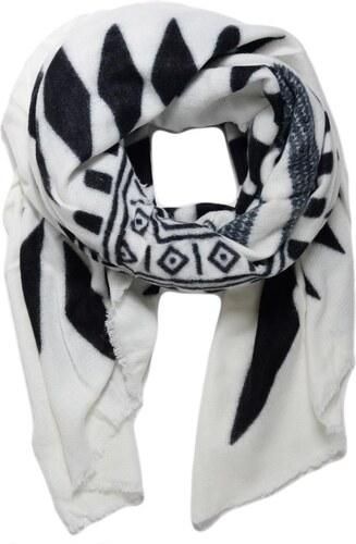 Beyou Teplá Šála Kara černo-bílá - Glami.cz 85d2f070c4