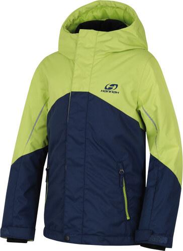 HANNAH Paola JR Dětská lyžařská bunda 217HH0099HJ04 Majolica blue lime  punch 116 1c9f32ee2d
