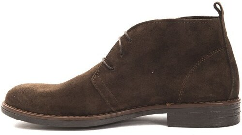 aaecc40f88 Trussardi Collection Pánske členkové topánky PL10 MOGLIA Brown   Brown