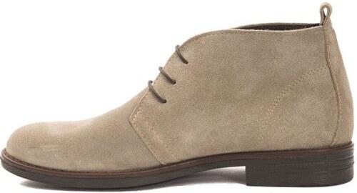 1418109470 Trussardi Collection Pánske členkové topánky PL10 MOGLIA Brown   Beige