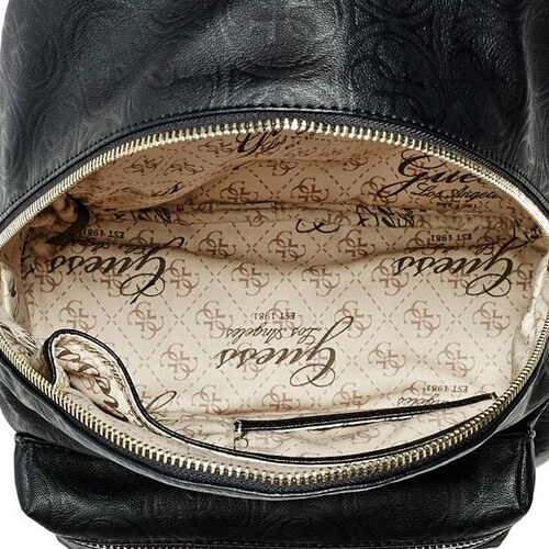6ece47bfd6 Batoh Guess Leeza Quattro G Embossed Backpack black - Glami.cz