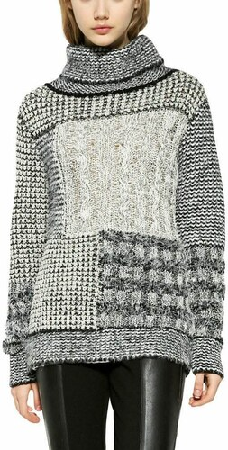 a18f8390396c sveter Desigual Charlie blanco - Glami.sk