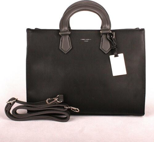 aa4cba73e5 Černá středně velká kabelka do ruky David Jones CM3581 - Glami.cz