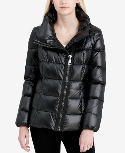 64f8d649d1 Dámská bunda Calvin Klein Assymetrical Jacket černá - Glami.sk