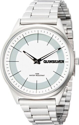 f1d1a22db7401 QUIKSILVER hodinky BIENVILLE METAL Silver Velikost  TU - Glami.sk