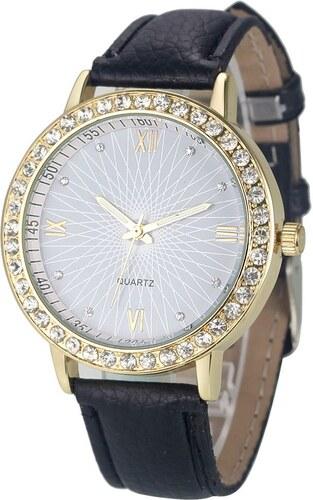 Shim Watch Lola Dámské hodinky s krystaly Černé - Glami.cz cc79c4a46c