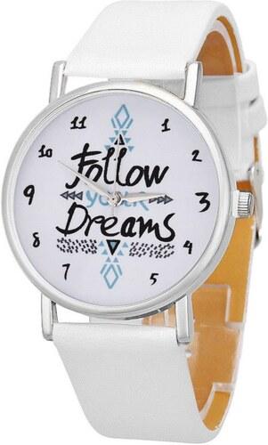 Shim Watch Follow dámské hodinky dreams bílé - Glami.cz 8e4bc63011