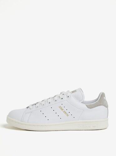best service 04a70 c265a ... new arrival 6a501 4b650 Pantofi sport albi din piele pentru barbati adidas  Originals Stan Smith ...