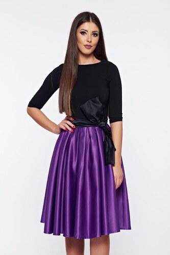 StarShinerS Lila Artista alkalmi harang ruha szatén anyagból - Glami.hu 1fabca3864