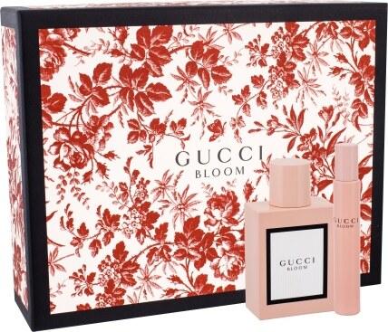 6b2cc11ce GUCCI Gucci Bloom Dárková sada dámská parfémovaná voda 50 ml a miniaturka Gucci  Bloom dámská parfémovaná voda 7,4 ml