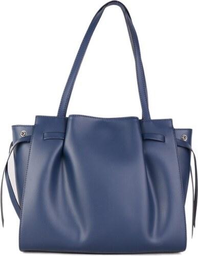 Talianske kožené luxusné kabelky cez plece čierne veľké Torenta ... 4a86fe79235