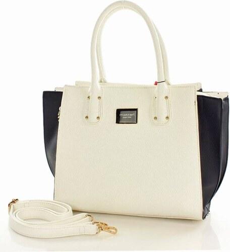 39ebee380501 MONNARI nagyon nőies táska táska fehér ' kék színű - Glami.hu