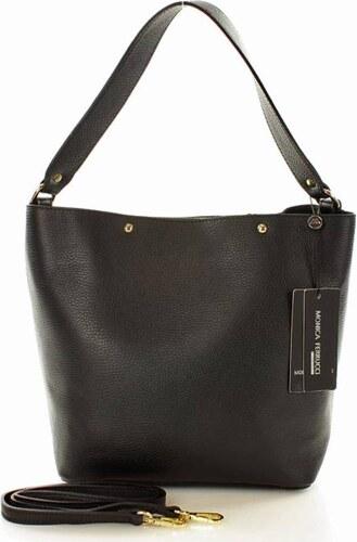 márkás táska olasz MAZZINI - Monica Ferrucci - Gianna fekete - Glami.hu 3eb5b9efb7