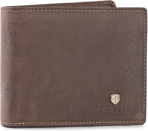 d799277a61 Veľká Peňaženka Pánska PETERSON - 304 Brown - Glami.sk