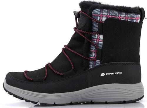 baa7ba0b7d43 ALPINE PRO DARLEEN Dámska zimná obuv LBTK145990 čierna 36 - Glami.sk