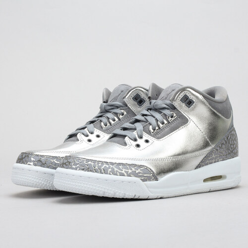 8f3e7ba3bfd0 Jordan Air Jordan 3 Retro Premium HC metallic silver   cool grey ...