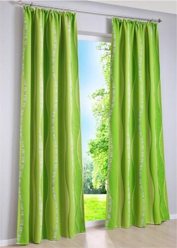 bpc living Bonprix - Rideau occultant Timba (1 pce.) vert pour ...