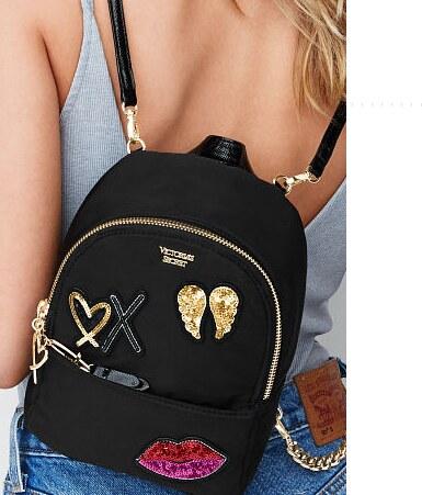 Victoria s Secret - Luxusní černý batůžek - Glami.cz 8fc989e76f