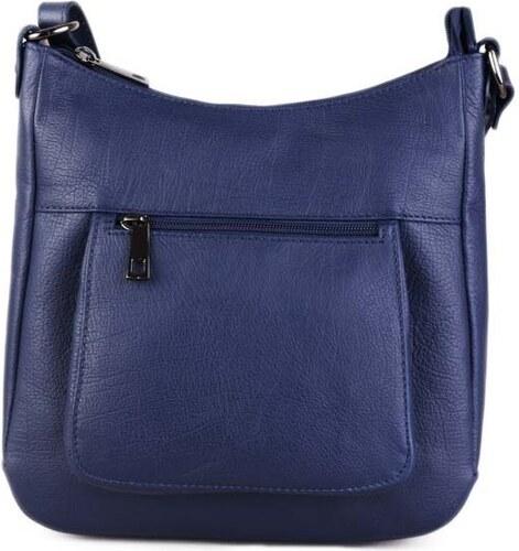 ITALSKÉ Kožené kabelky crossbody modré Zolana 2713a5fd1e