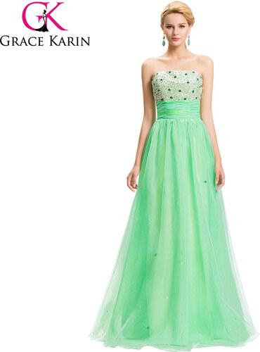 429d4ff9a2d Krásné světle zelené maturitní