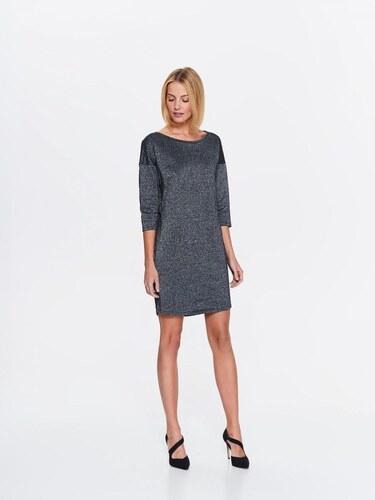 2ce8bdb58a95 Top Secret šaty dámské šedé s 3 4 rukávem - Glami.cz
