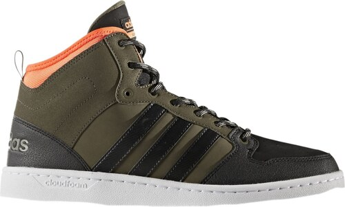 Pánská Zimní obuv adidas Performance CF HOOPS MID WTR TRAOLI CBLACK SORANG cfd2b2869f