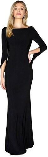 LITTLE MISTRESS Luxusné čierne maxi šaty - Glami.sk 205fa4e47c2