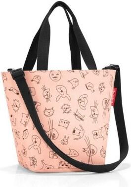 12fdf4b5c1 Dětská taška přes rameno Reisenthel Shopper XS kids Cats and dogs rose