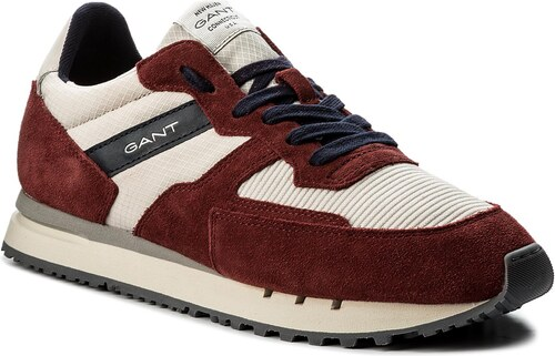 Sneakersy GANT - Duke 16639529 Syrah Red Pum Beige G516 - Glami.cz d78625ec827