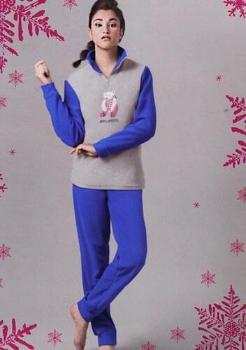 Regina Schrecker Fleecové pyžamo RS L - Glami.cz bbf6a6831e