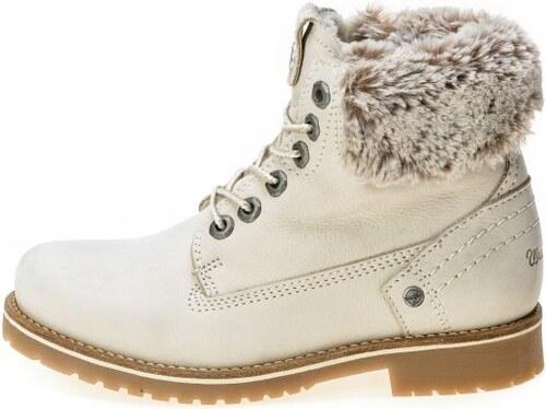 Wrangler dámská kotníčková obuv Creek Alaska 41 smetanová - Glami.cz 02fd353c24