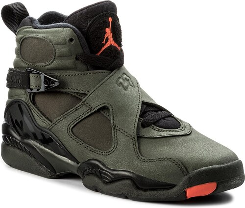 046cb4a5df441 Topánky NIKE - Air Jordan 8 Retro BG 305368 305 Sequoia/Max Orange/Black
