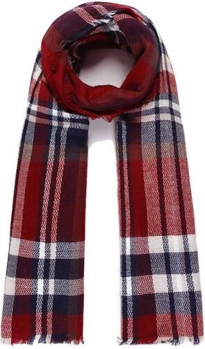 48381fe1022 Mixone Luxusní šátek CROSS red - Glami.cz