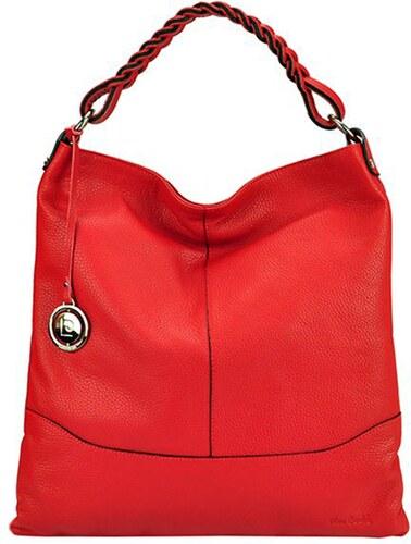 Dámská kožená kabelka Pierre Cardin 5318 EDF DOLLARO červená - Glami.cz dcde177892f