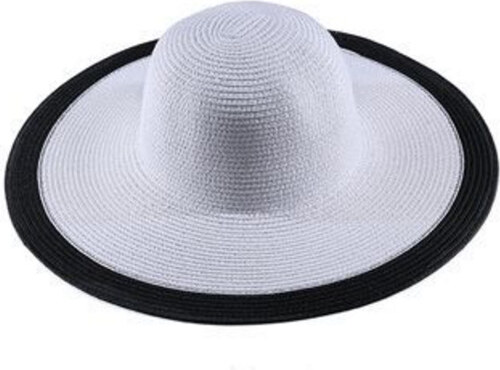 35766ece9e8 Dámský klobouk Miranda bílý s černým lemem - Glami.cz