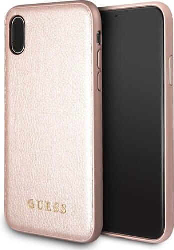 Zadní kryt Guess IriDescent TPU GUHCPXIGLRG pro iPhone X XS - růžovo-zlatý 00e95985b3b