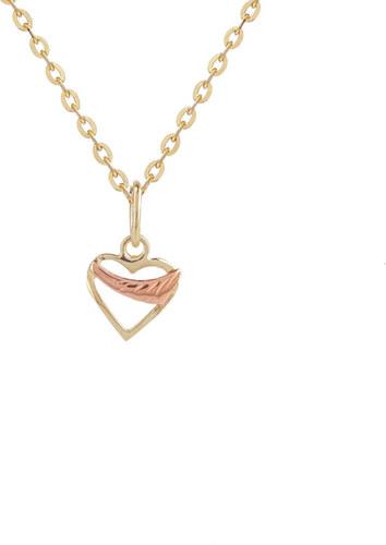 c95637b77 Starlit Zlaté srdiečko s ružovým zlatom - Glami.sk