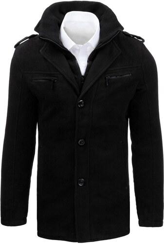 Fekete egysoros szövet kabát - Glami.hu ca94a43202
