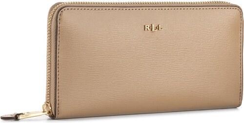 79f9aaaa7b Nagy női pénztárca LAUREN RALPH LAUREN - Tate 432504473050 Cream ...