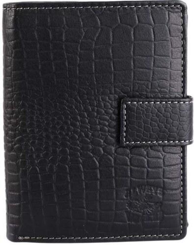 Levné černé pánské kožené peněženky Always Wild N4L-CN black eac68ead36