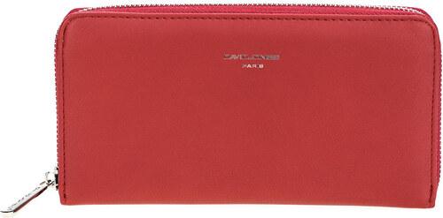 1c08a7764a9a David Jones Dámska elegantná peňaženka Red P052-510 - Glami.sk