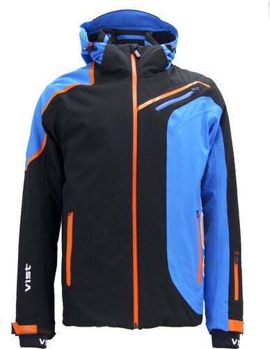 8aec22ecc6e Pánská lyžařská bunda Vist Alfredo Black Water Orange - Glami.cz