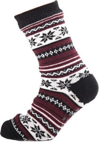 d0264f87ae2 Afrodit Teplé pánské zimní ponožky Tony bordó 43-46 - Glami.cz