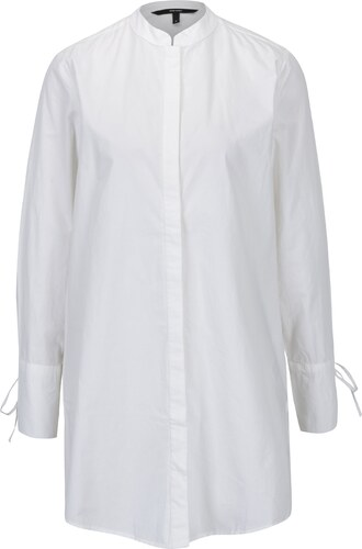9b5509058160 Biela dlhá košeľa VERO MODA Juljane - Glami.sk