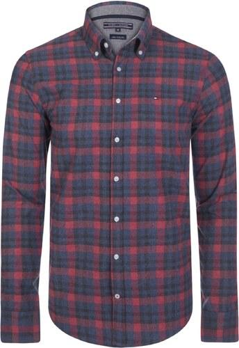 792b0b551e41 Modro-červená regular fit košile TOMMY HILFIGER - Glami.cz