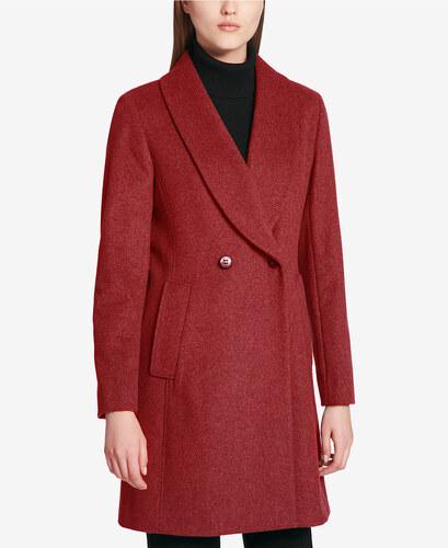 Kašmírový kabát Calvin Klein Shawl Peacoat - Glami.cz 9026ac7ec4