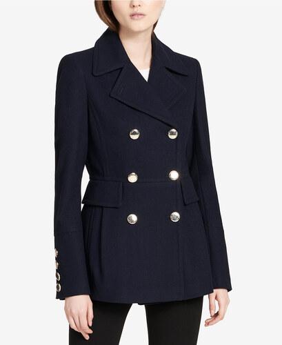 Dámský kabát Calvin Klein Double Breasted Coat - Glami.cz 037de927e9