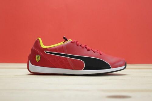 343a73dee P nsk Tenisky Puma Ferrari evoSPEED 1 4 SF NM rosso corsa Rosso