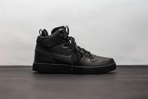Pánská Zimní obuv Nike COURT BOROUGH MID WINTER BLACK BLACK - Glami.cz 4c6f4982051